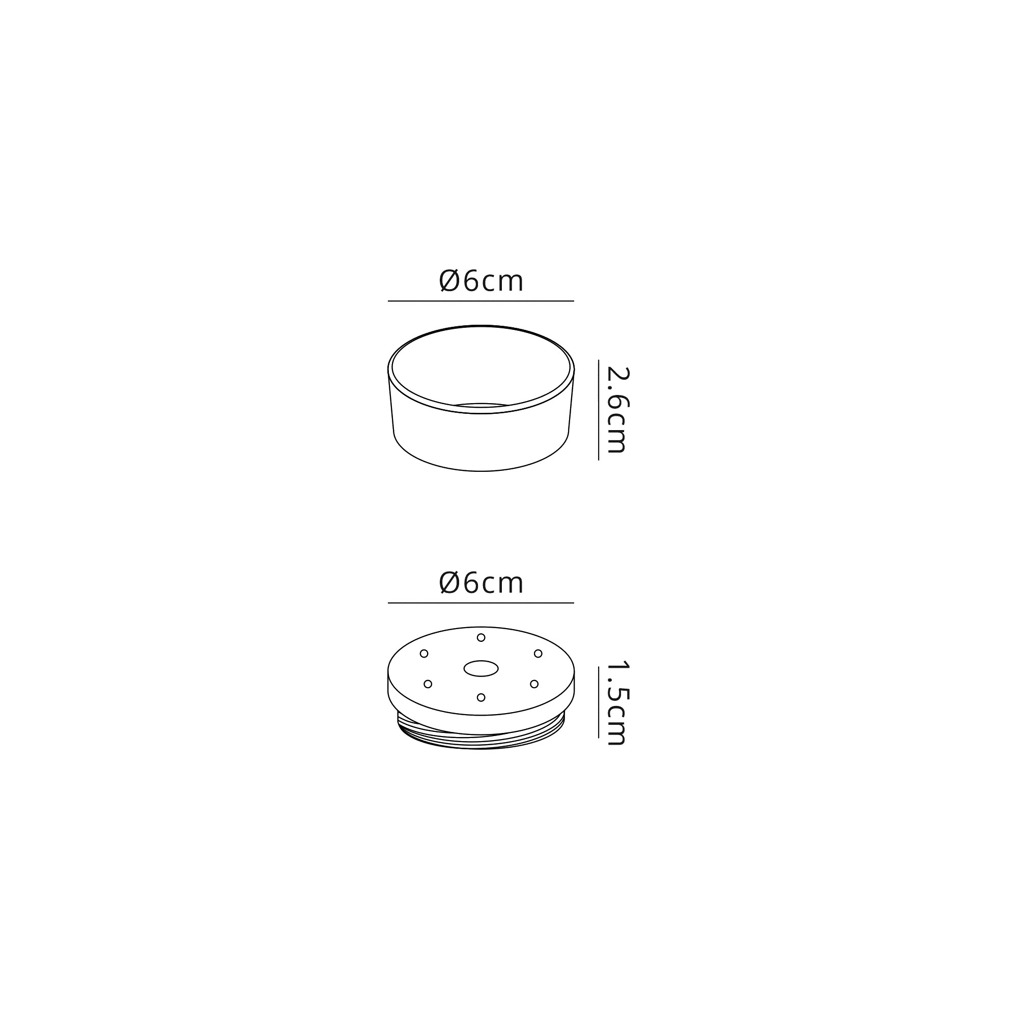 2cm Face Ring & 1cm Back Ring Accessory Pack
