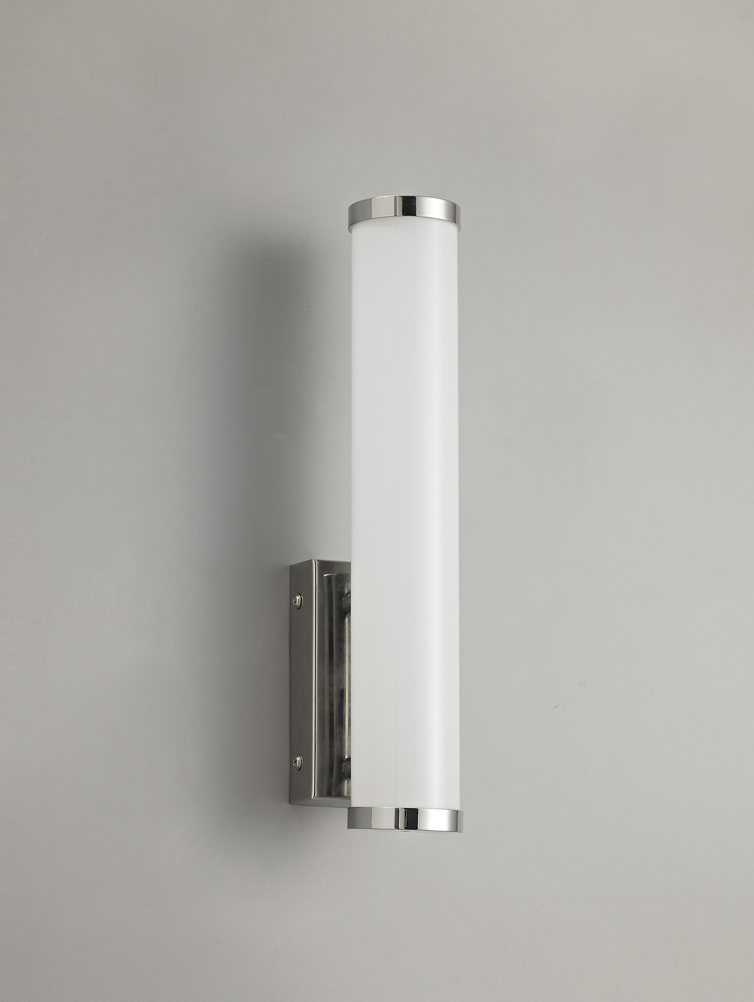 Wall Lamp Small, 1 x 9W LED, 4000K, 621lm, IP44, Polished Chrome, 3yrs Warranty