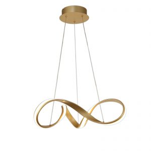 Small Pendant, 1 x 30W LED, 3000K, 1800lm, Sand Gold, 3yrs Warranty