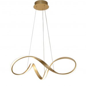 Medium Pendant, 1 x 39W LED, 3000K, 2152lm, Sand Gold, 3yrs Warranty
