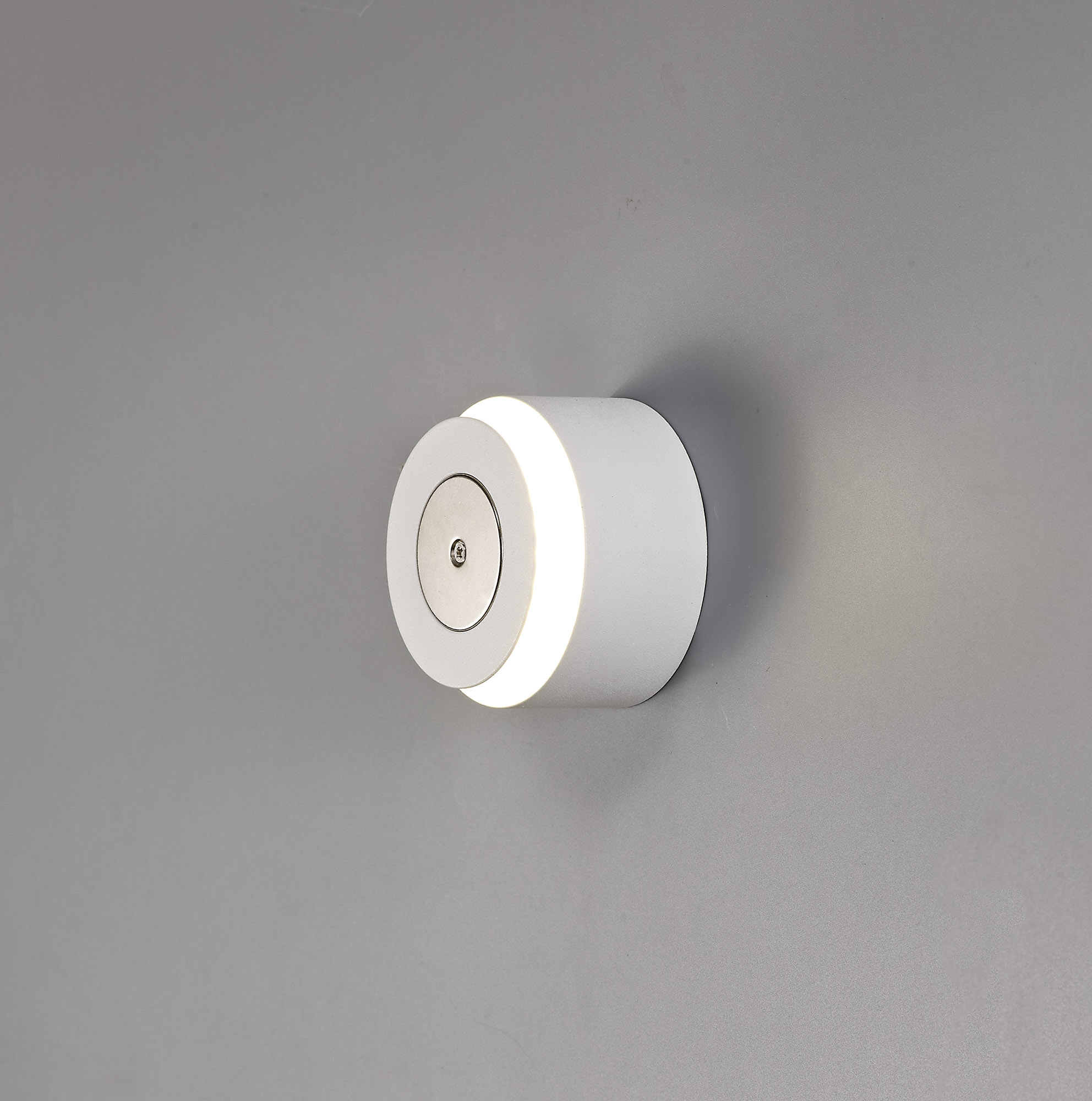 Magnetic Base Wall Lamp, 1 x 12W LED, 3000K, 498lm, Sand White, 3yrs Warranty