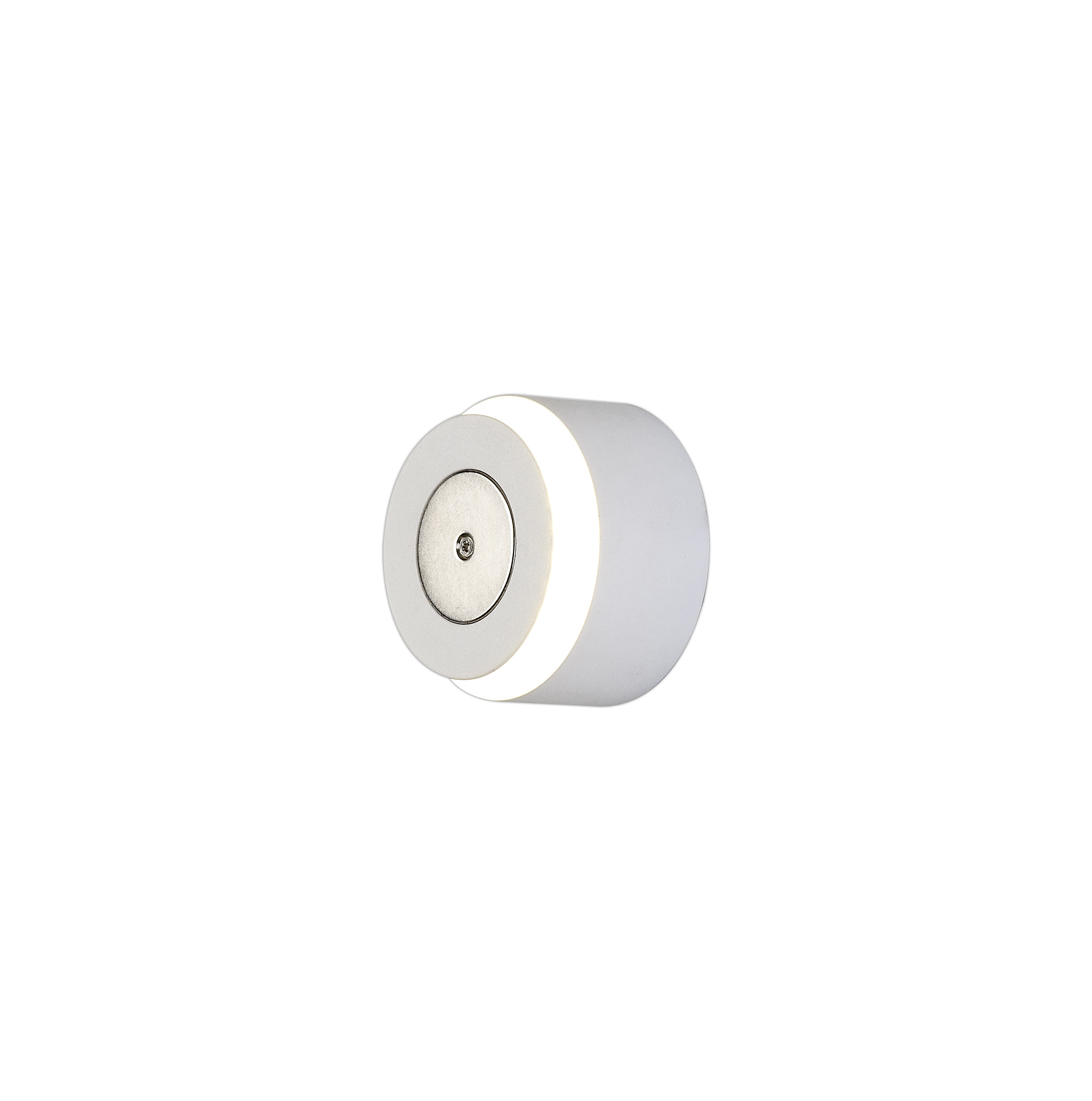 Magnetic Base Wall Lamp, 12W LED 3000K 498lm, 20cm Round