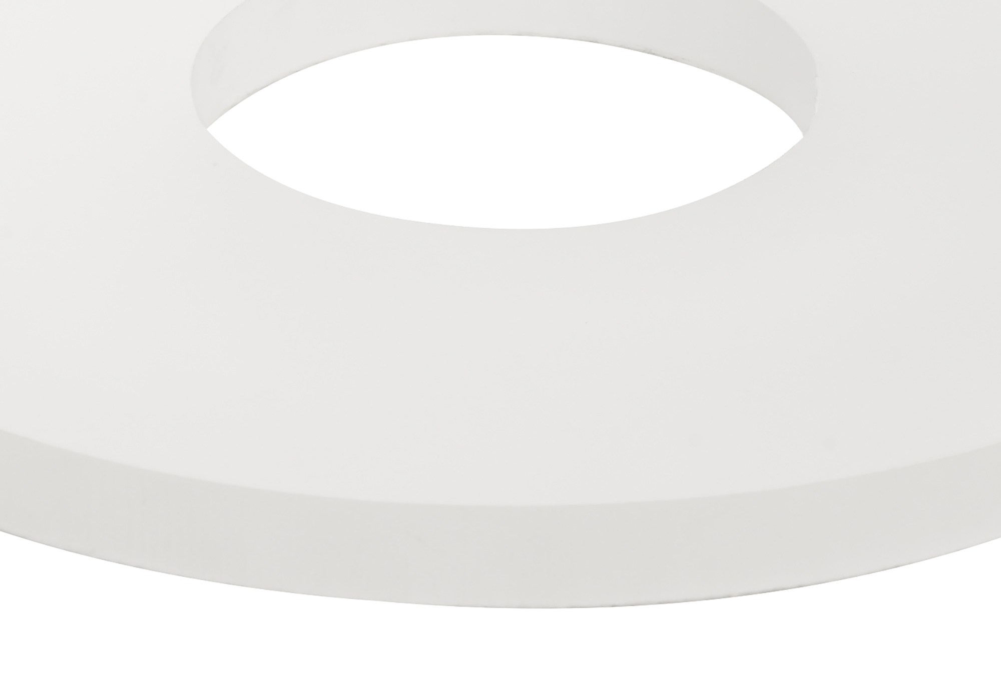 190mm Non-Electric Round Acrylic,Frosted