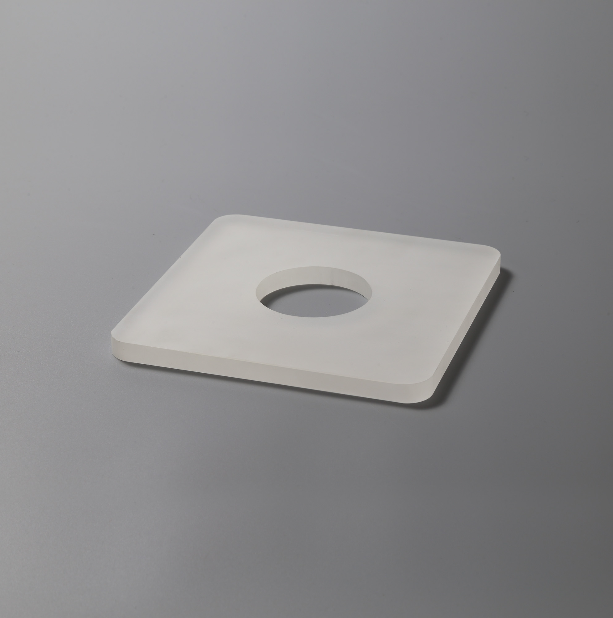 190mm Non-Electric Square Acrylic,Frosted