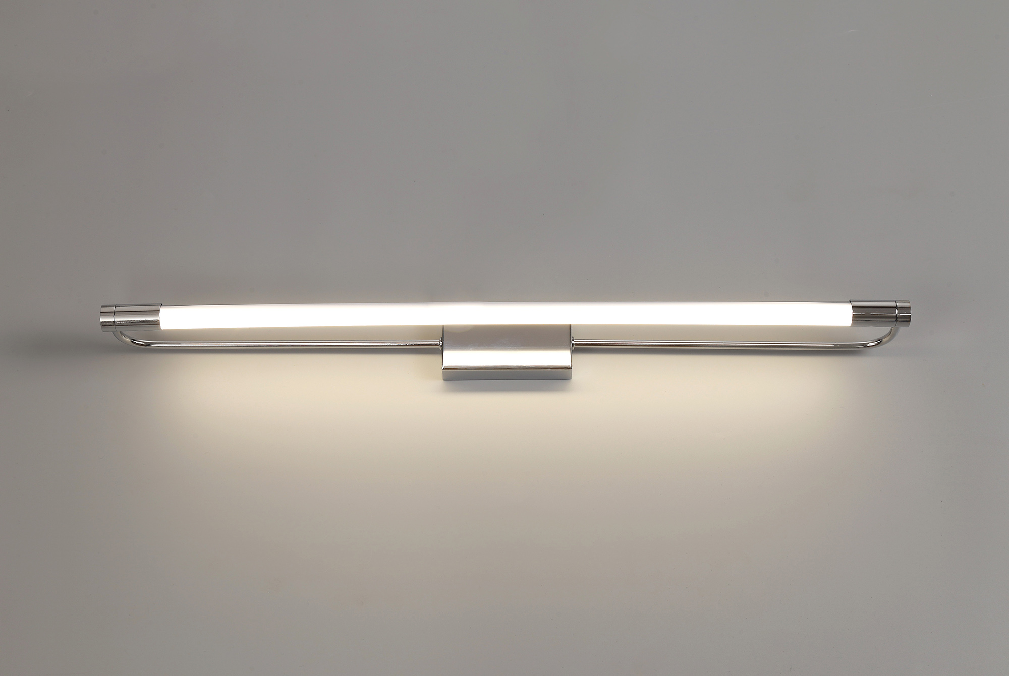LED 1 x 14W Chrome Wall Lamp Large 1 Light 4000K IP44 3yr Warranty