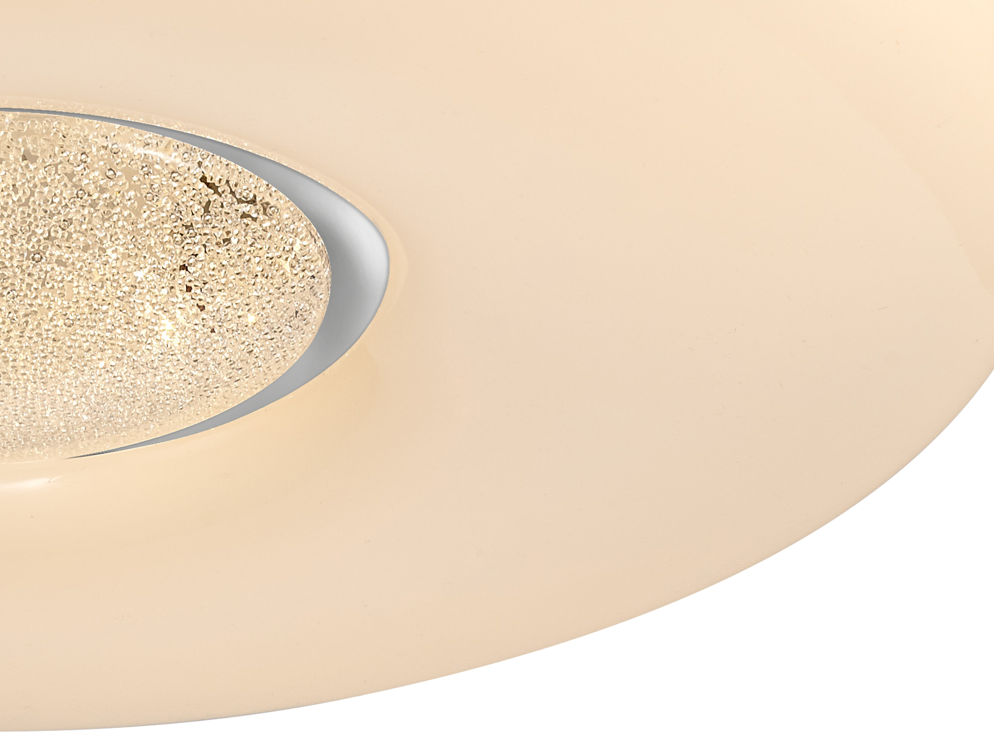 Ceiling, 1 x 24W LED, CCT Switchable 3000/4000/6000K, 2032lm, Opal White, 3yrs Warranty