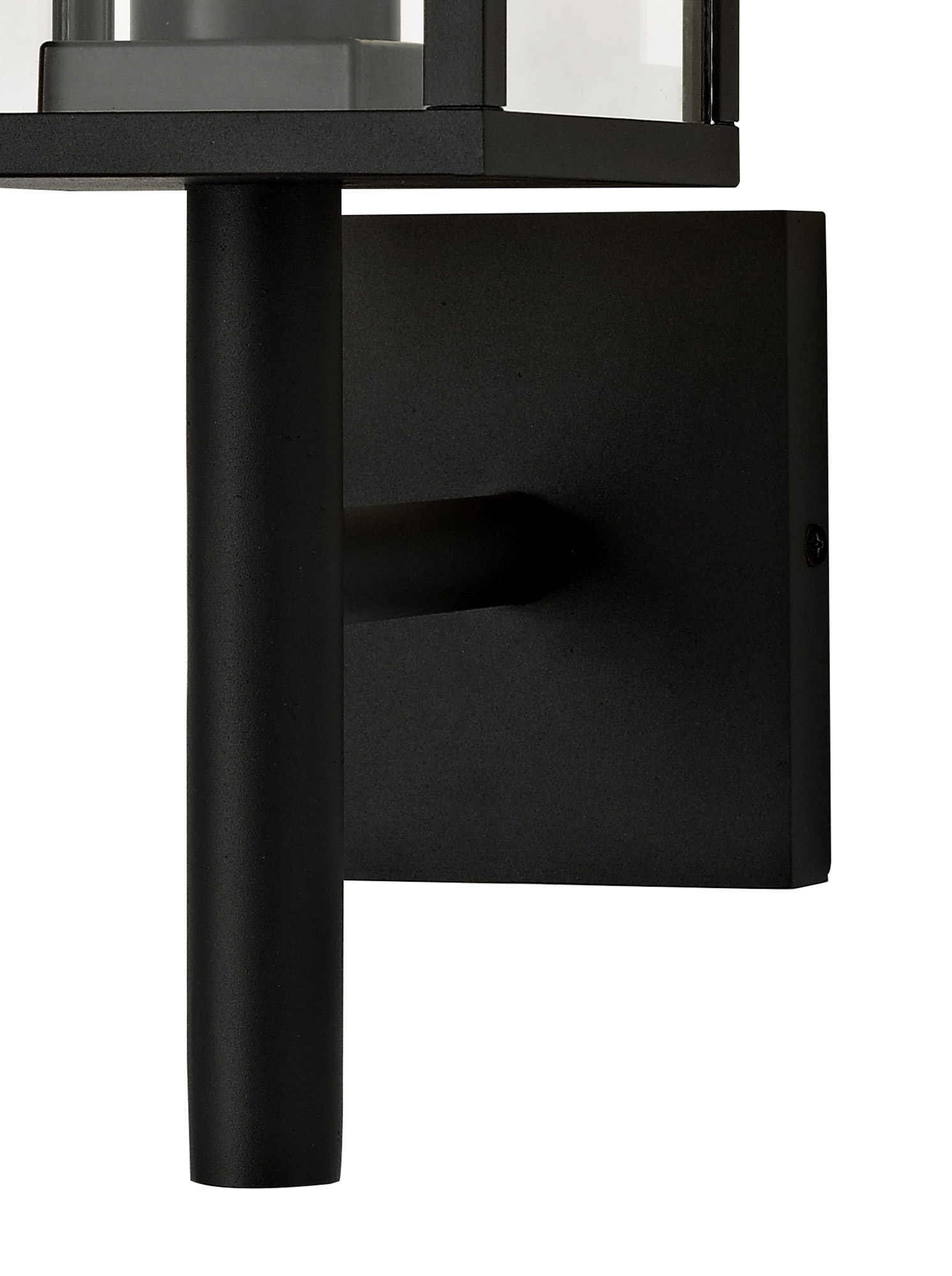 Upward Wall Lamp, 1 x E27, IP54, Graphite Black, 2yrs Warranty