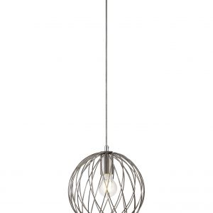 Sphere Pendant, 1 x E27, Polished Nickel