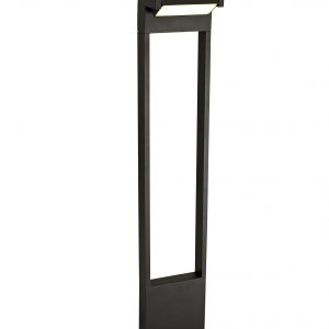 Tall Post, 1 x 10W LED, 3000K, 720lm, IP54, Graphite Black, 3yrs Warranty