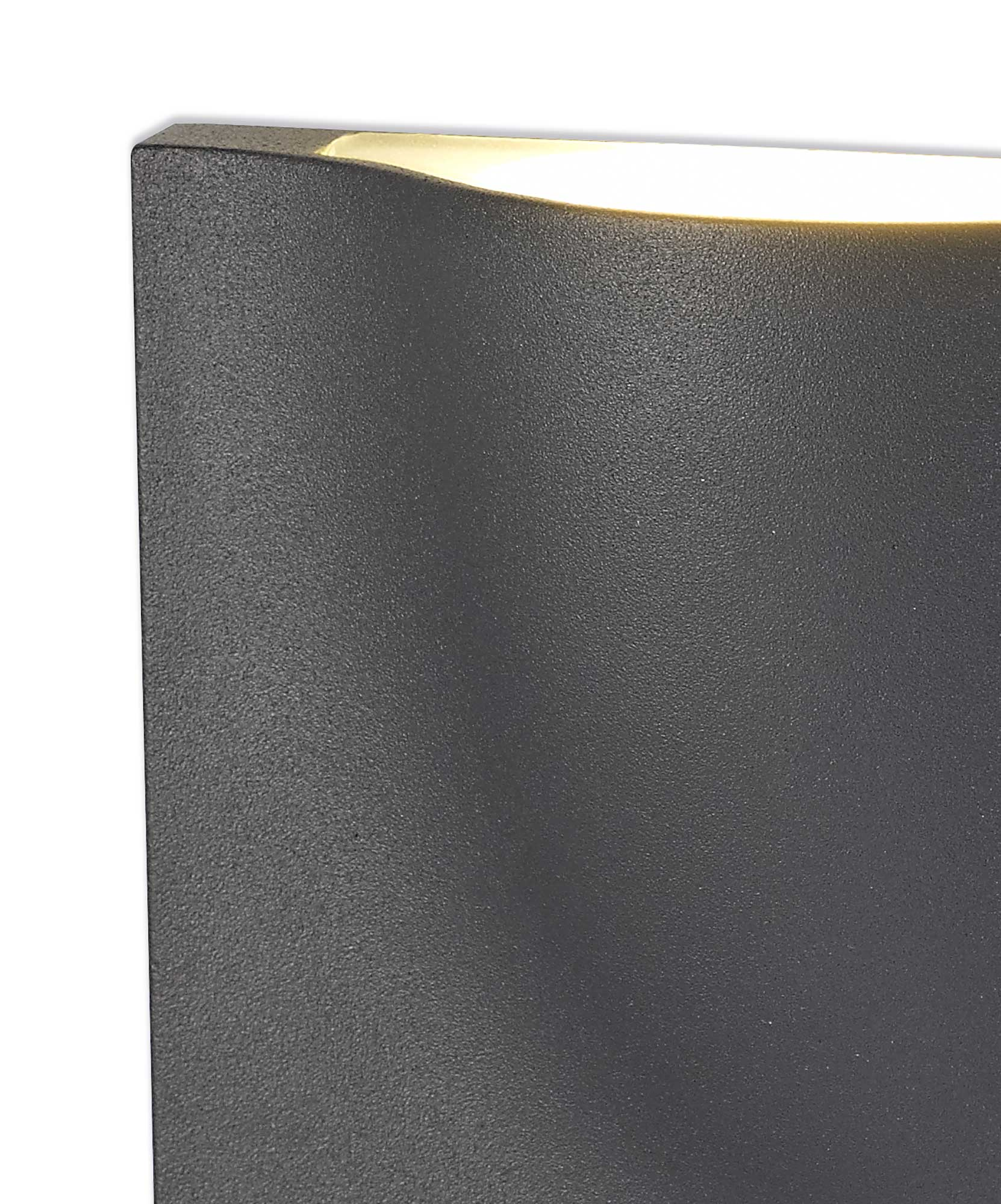 Wall Lamp, 1 x 6W LED, 3000K, 510lm, IP54, Anthracite, 3yrs Warranty