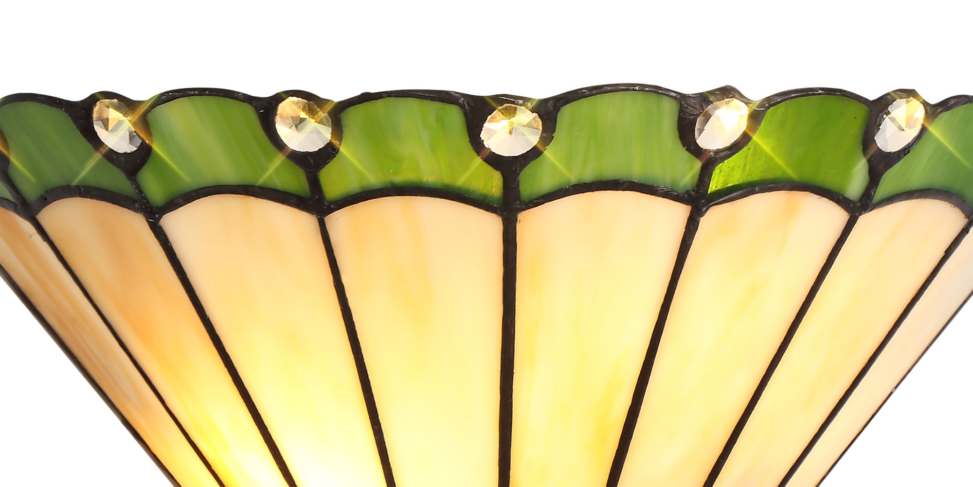 Tiffany Wall Lamp, 2 x E14