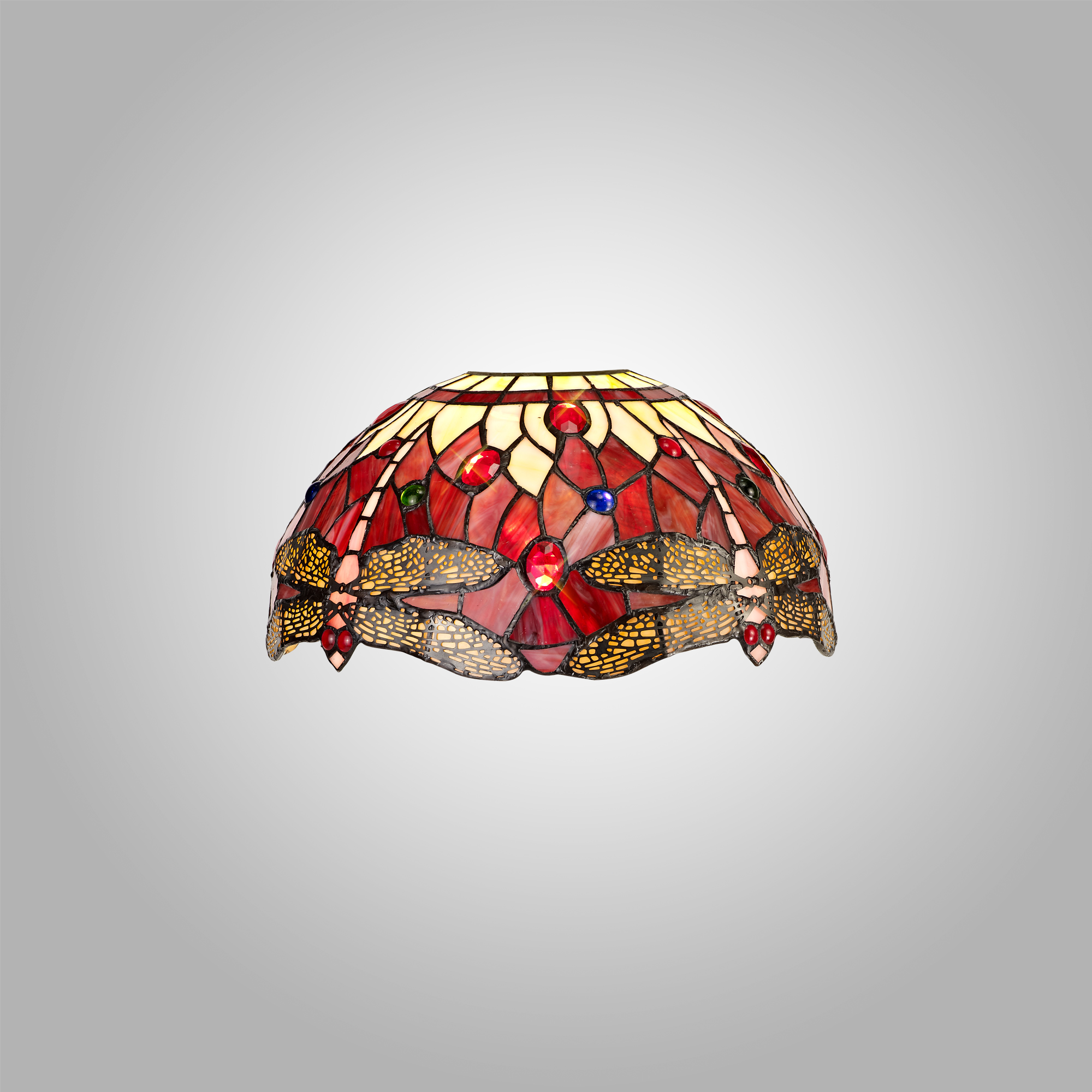 Tiffany 30cm Non-electric Shade Suitable For Pendant/Ceiling/Table Lamp