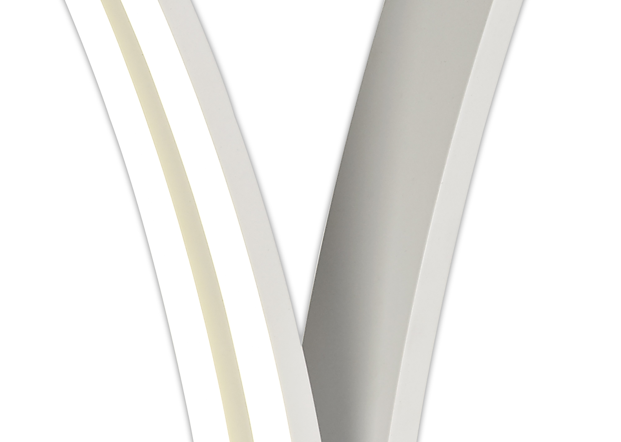 2 Light Table Lamp Switched, 5W/7W LED, 4000K, 757lm, White, 3yrs Warranty