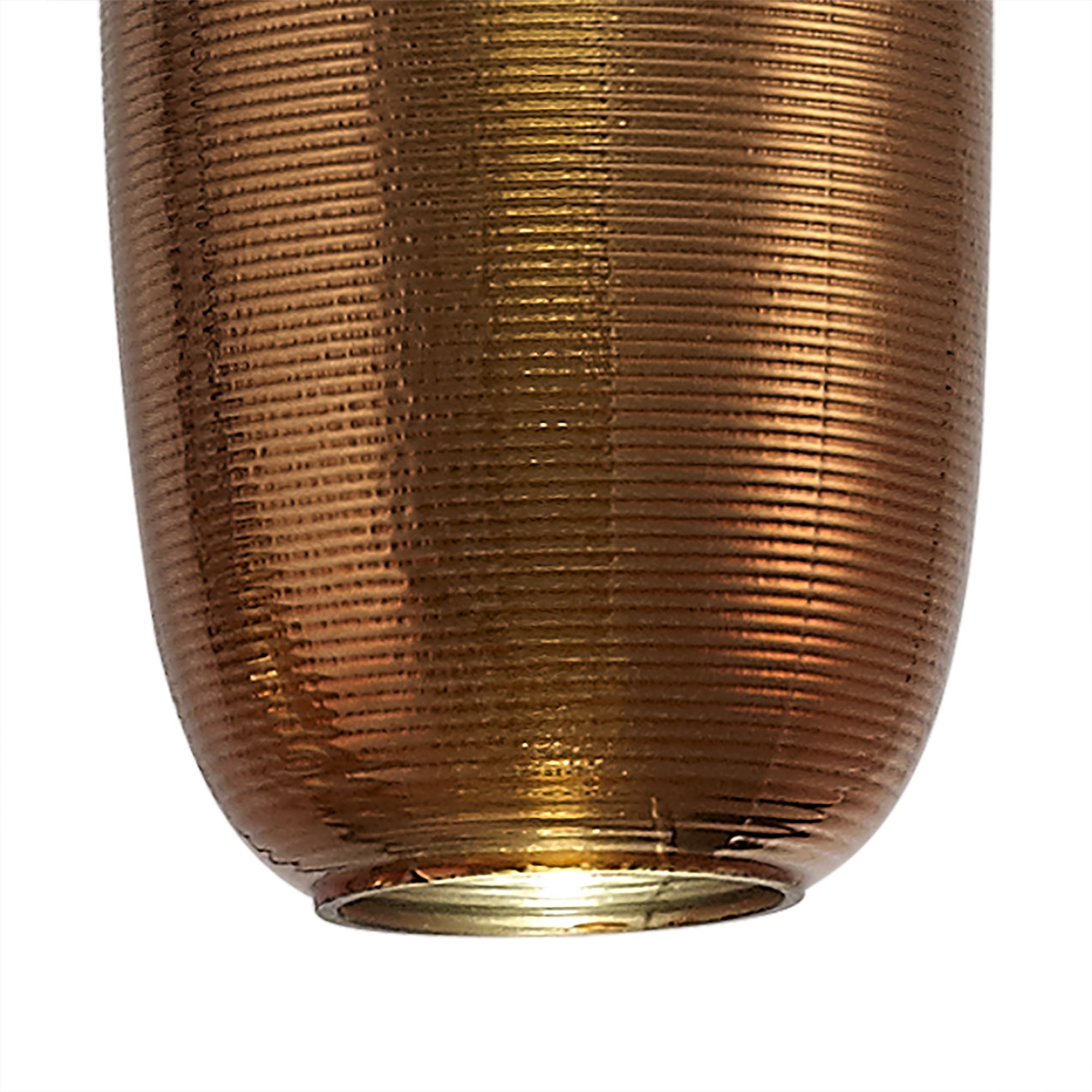 Multiple Pendant, 3 x 8W LED, 4000K, 2160lm, Smoked, Copper & Champagne/Black, 3yrs Warranty