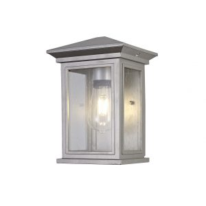 Flush Wall Lamp, 1 x E27, IP54, 2yrs Warranty