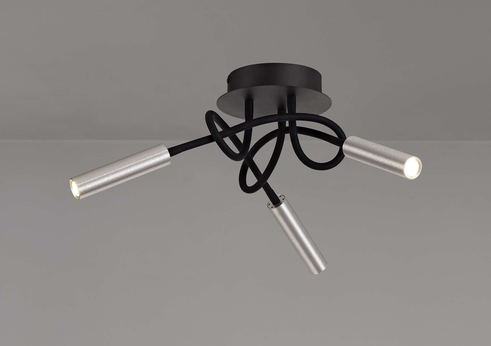 Ceiling, 3 Light Adjustable Arms, 3 x 5W LED Dimmable, 3000K, 930lm, 3yrs Warranty