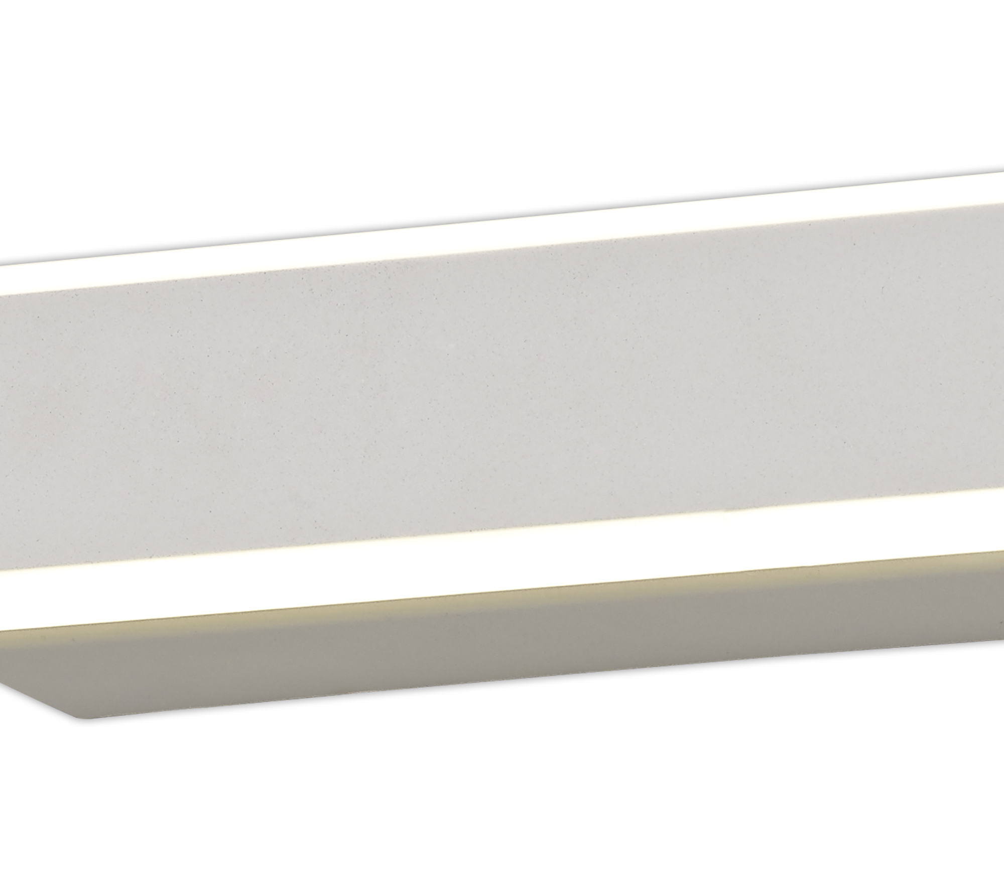 Wall Lamp, 1 x 12W LED, 4000K, 568lm, Sand White, 3yrs Warranty
