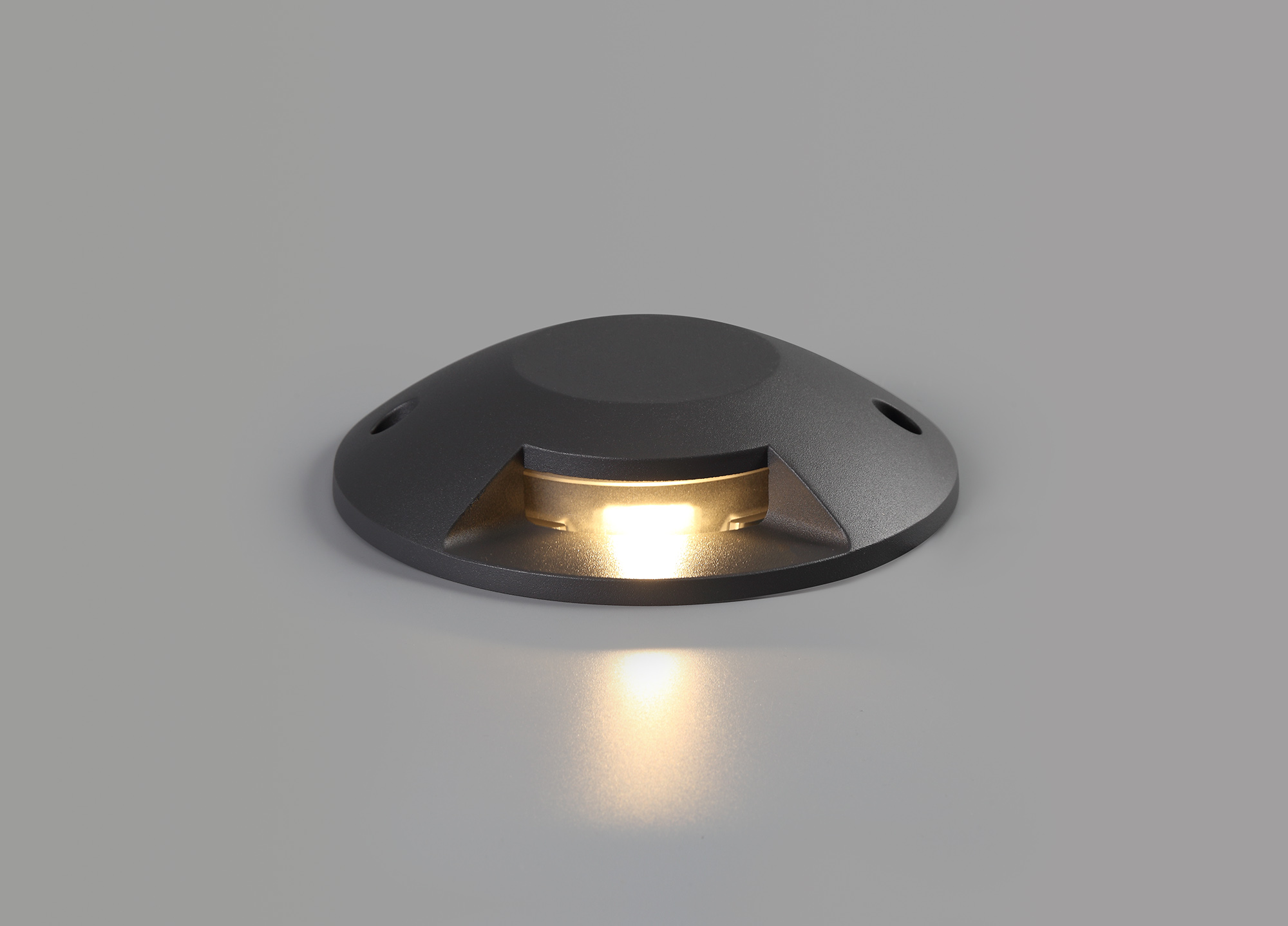 Above Ground (NO DIGGING REQUIRED) Driveover 1 Light, 1 x 6W LED, 3000K, 165lm, IP67, IK10, Anthracite, 3yrs Warranty
