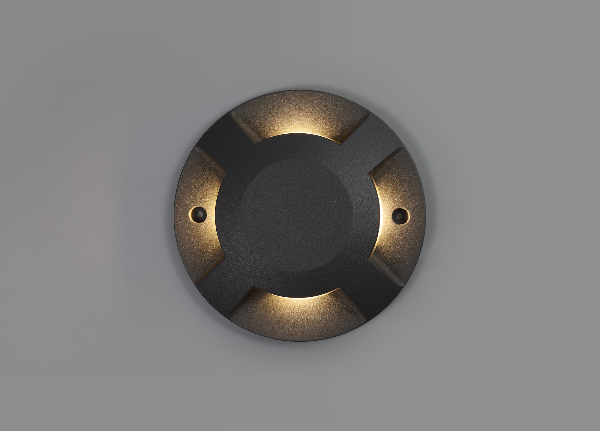 Above Ground (NO DIGGING REQUIRED) Driveover 4 Light, 4 x 3W LED, 3000K, 256lm, IP67, IK10, Anthracite, 3yrs Warranty