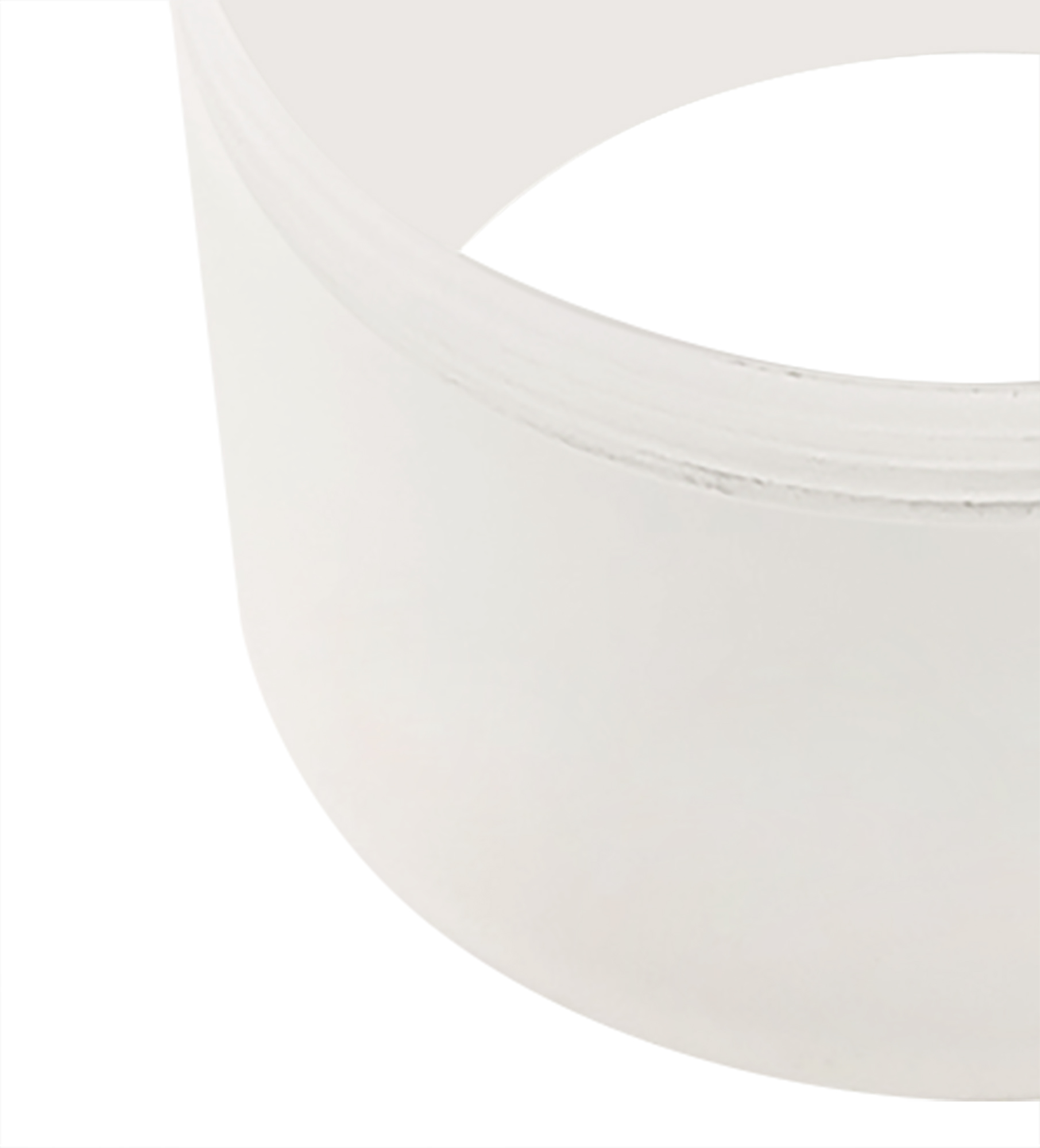 2cm Face Ring Accessory, Frosted Acrylic