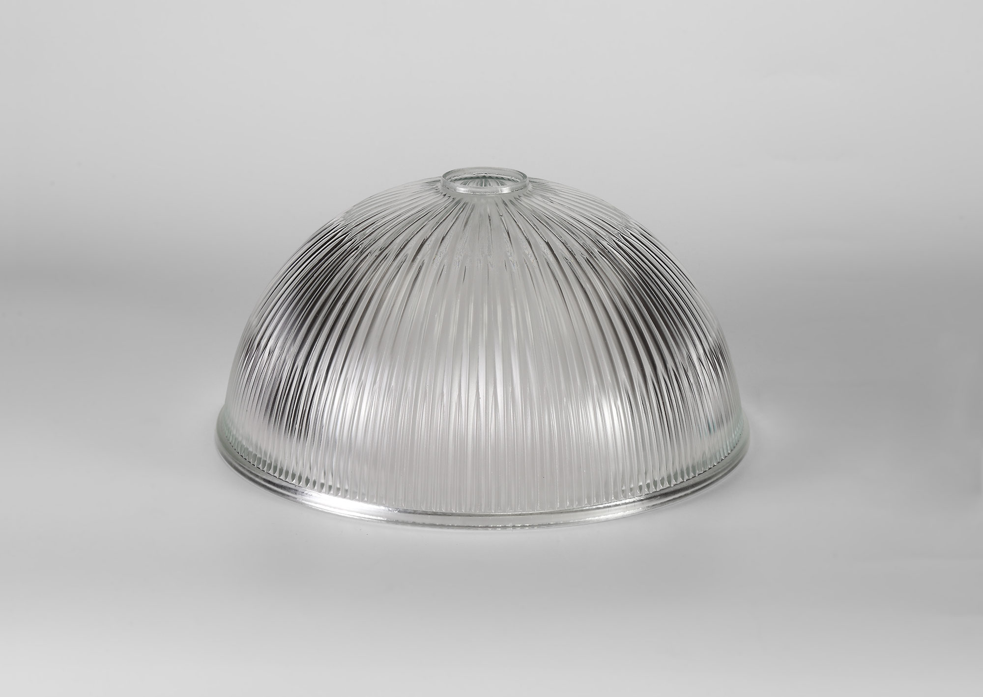 Dome 30cm Clear Glass Lampshade
