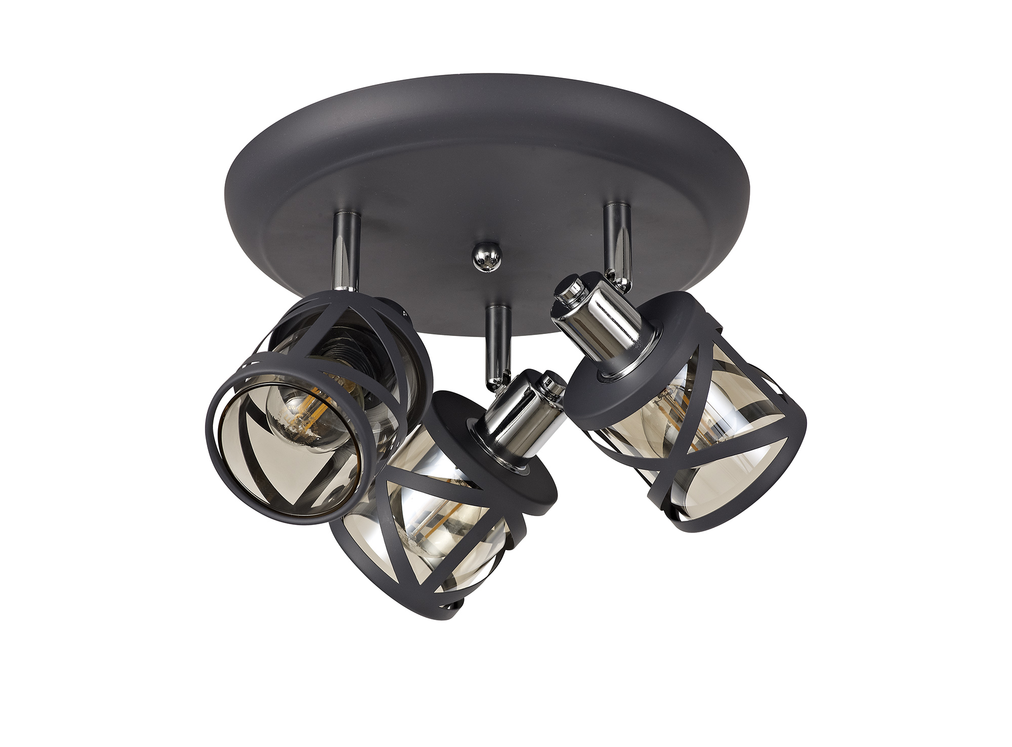 3 Light Round Spotlight E14