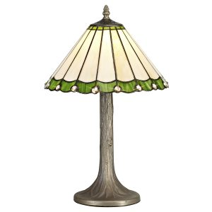 1 Light Tree Like Table Lamp E27 With 30cm Tiffany Shade