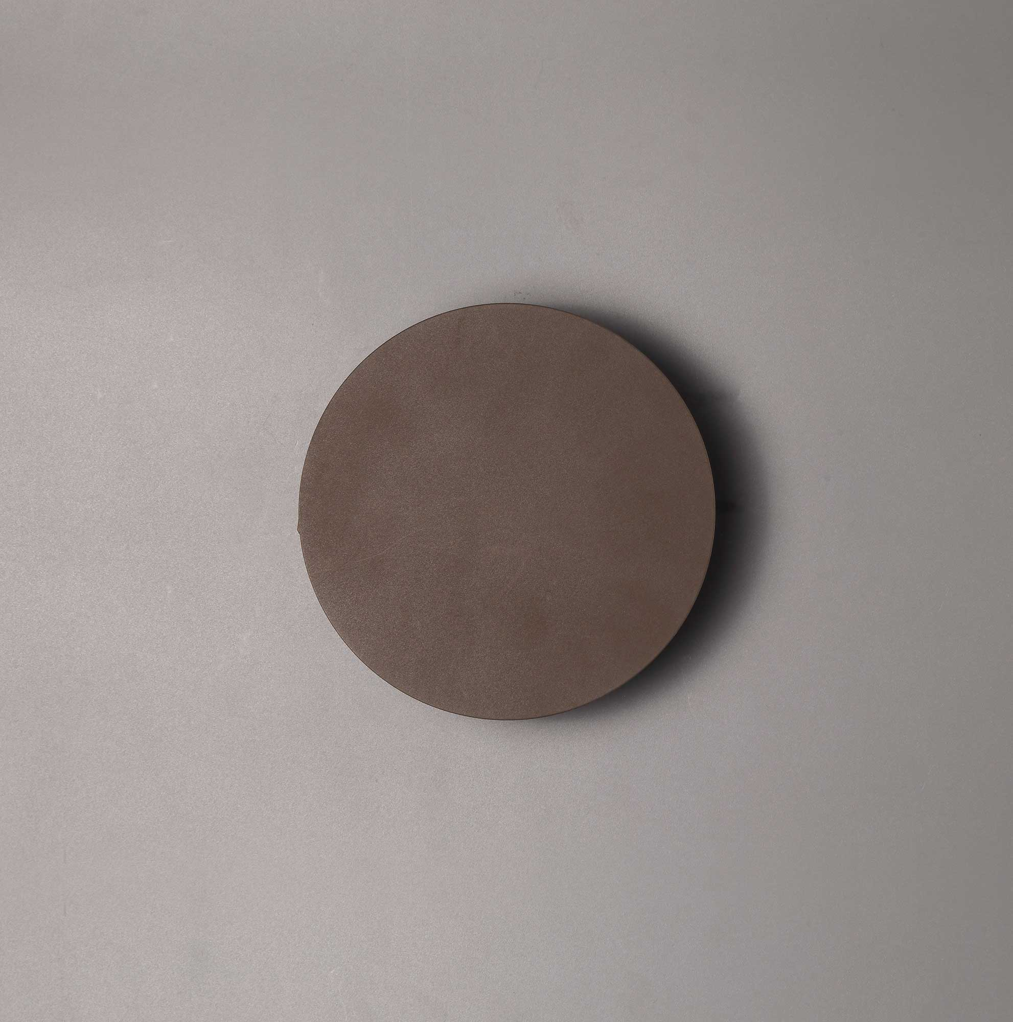 Magnetic Base Wall Lamp, 12W LED 3000K 498lm, 15cm Round